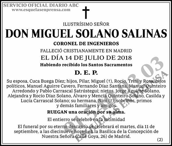 Miguel Solano Salinas